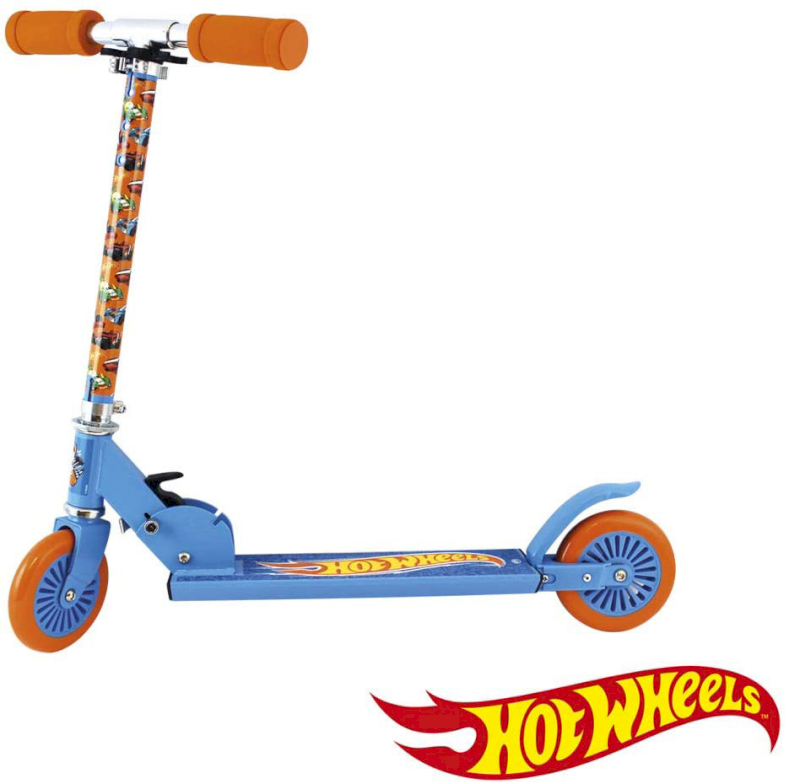 Patinete 2 Ruedas - Hot Wheels