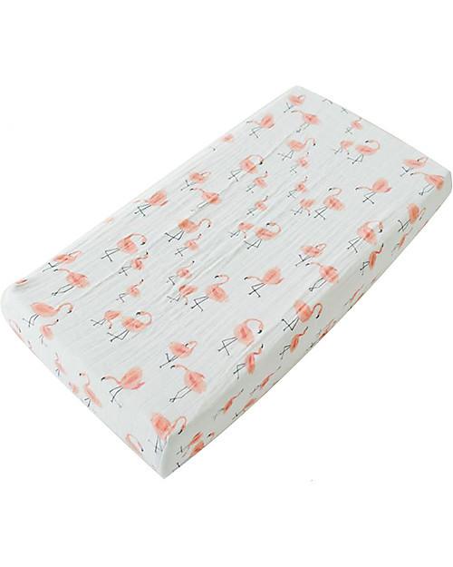 Little Unicorn | Cotton Muslin Flamingos