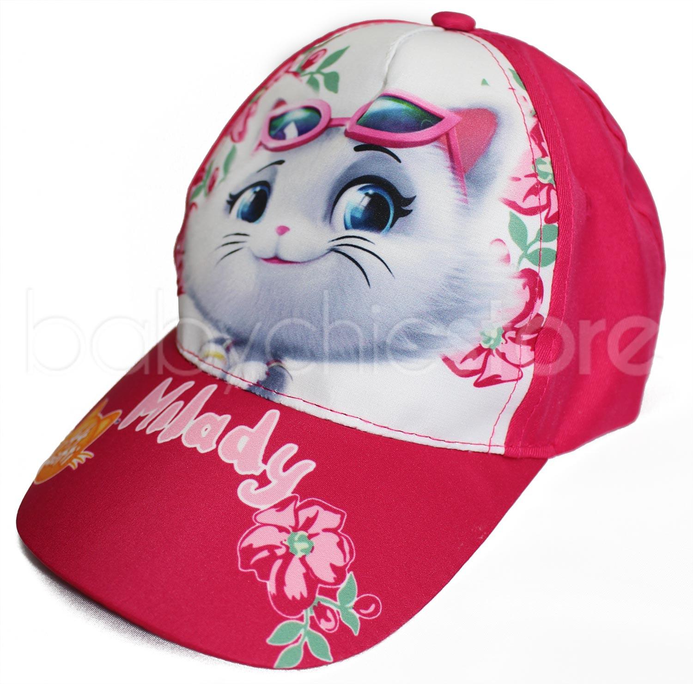 Cappellino con Visiera 44 Gatti - Bambina