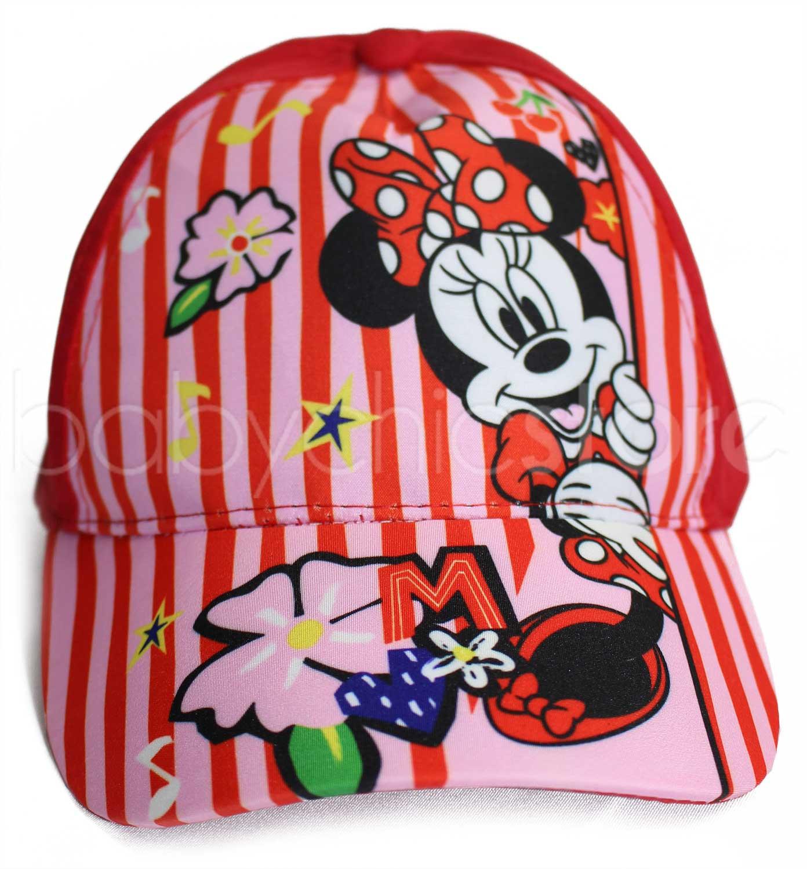Cappellino con Visiera di Minnie - Rosso/Rosa