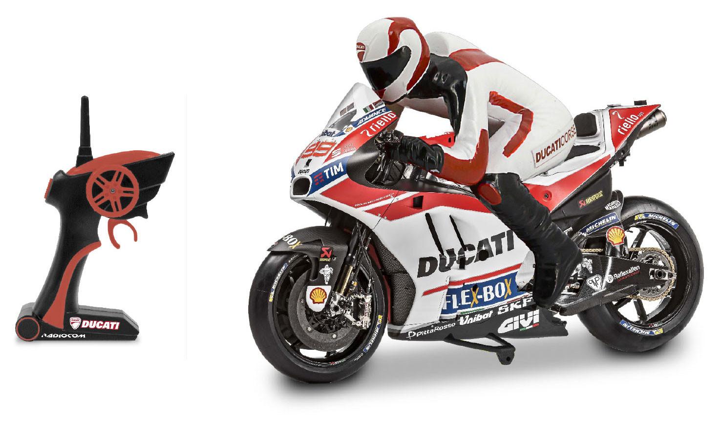 Moto Radiocomandada Ducati Desmosedici