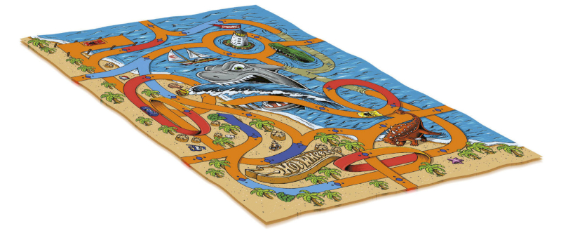 Tapis Géant Hot Wheels