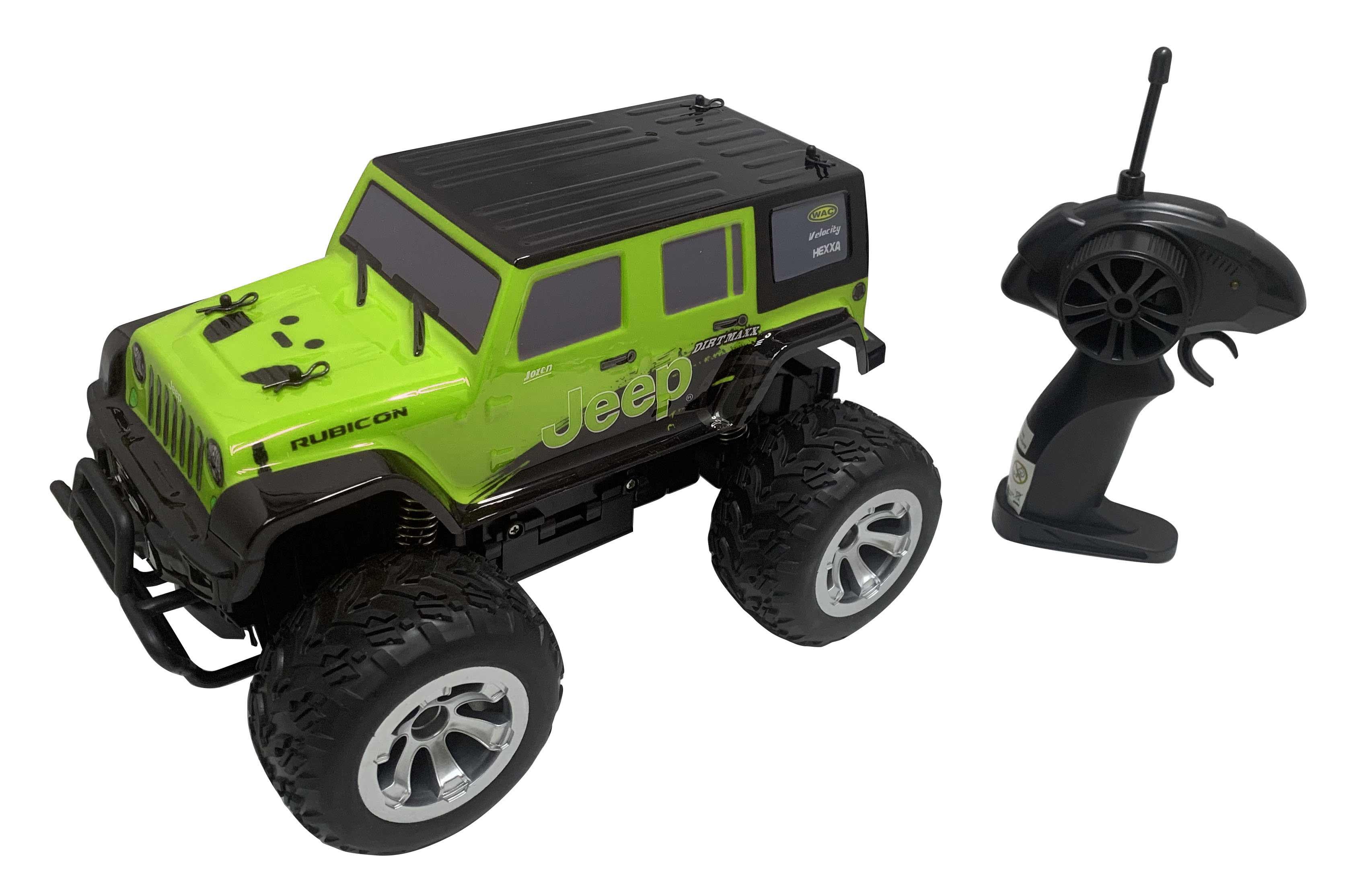 Jeep Wrangler Radiocommandé Vert