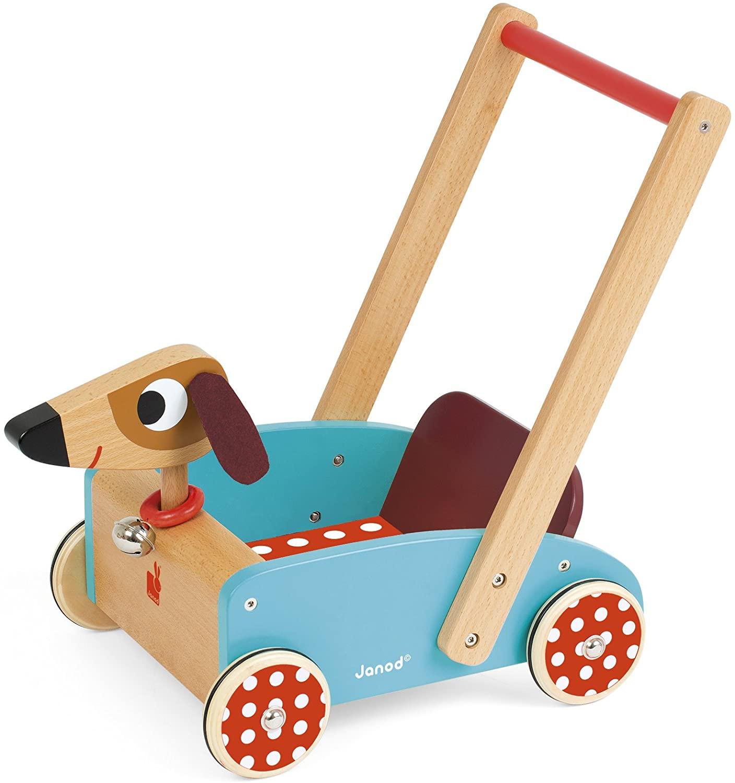 Carrito de madera - Crazy Doggy