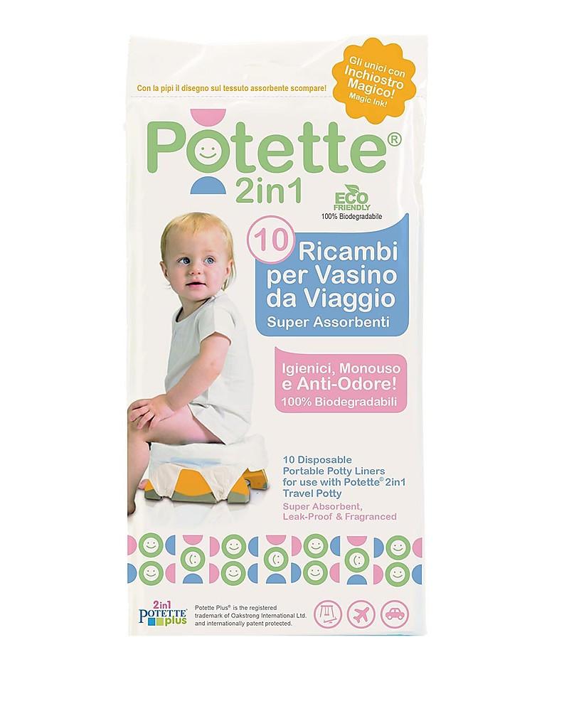 Recharges pour Potette 2en1 - 10 pièces