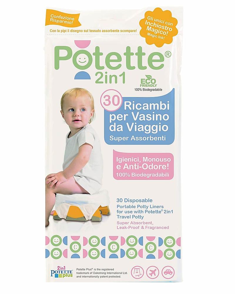 Repuestos para Orinal Potette 2in1 - 30 Piezas