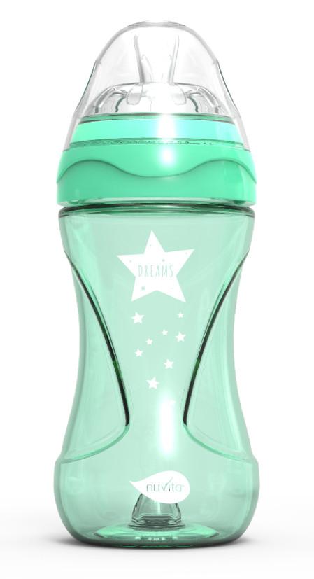 Biberon Mimic Cool 250ml 2m+ Green