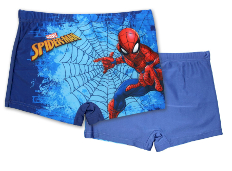 Costume Boxer Spiderman - Blu