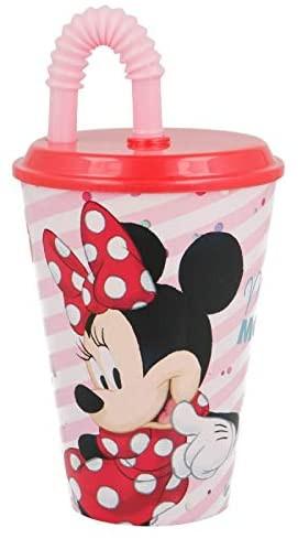 Bicchiere con Cannuccia Disney