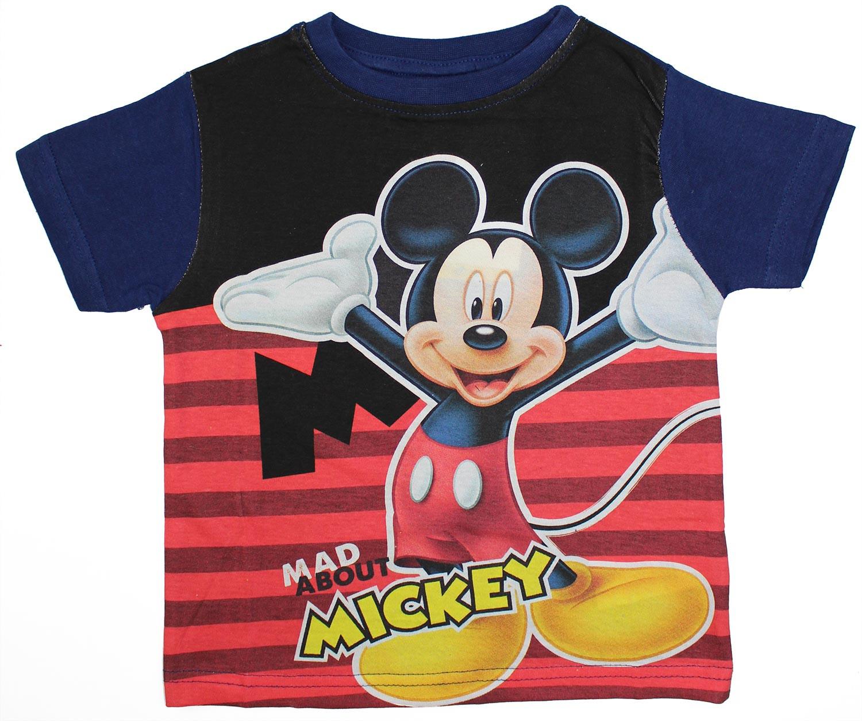 T-Shirt Topolino Blu 6 Anni