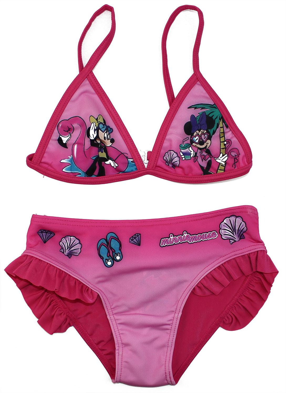Costume Bikini Minnie - Rosa 7/8 Anni