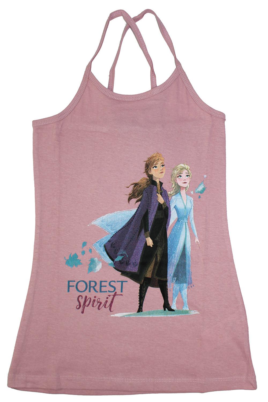 Vestitino Frozen Rosa - 5/6 Anni