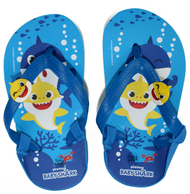 Tongs Baby Shark - Taille 25-26