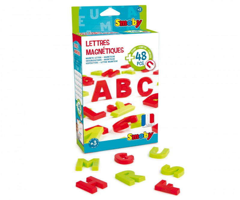 Activity 48 Lettere Magnetiche Smoby