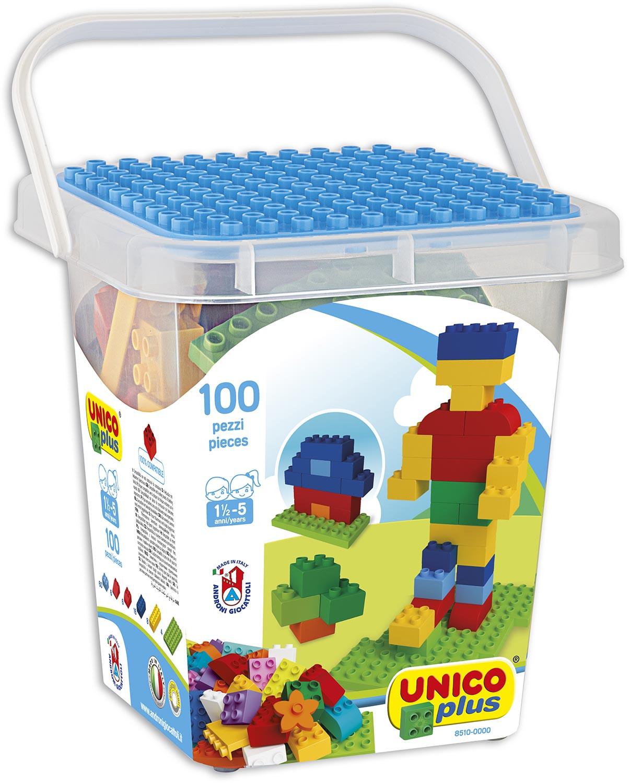 Box Costruzioni Unico Plus - 100 Blocchi