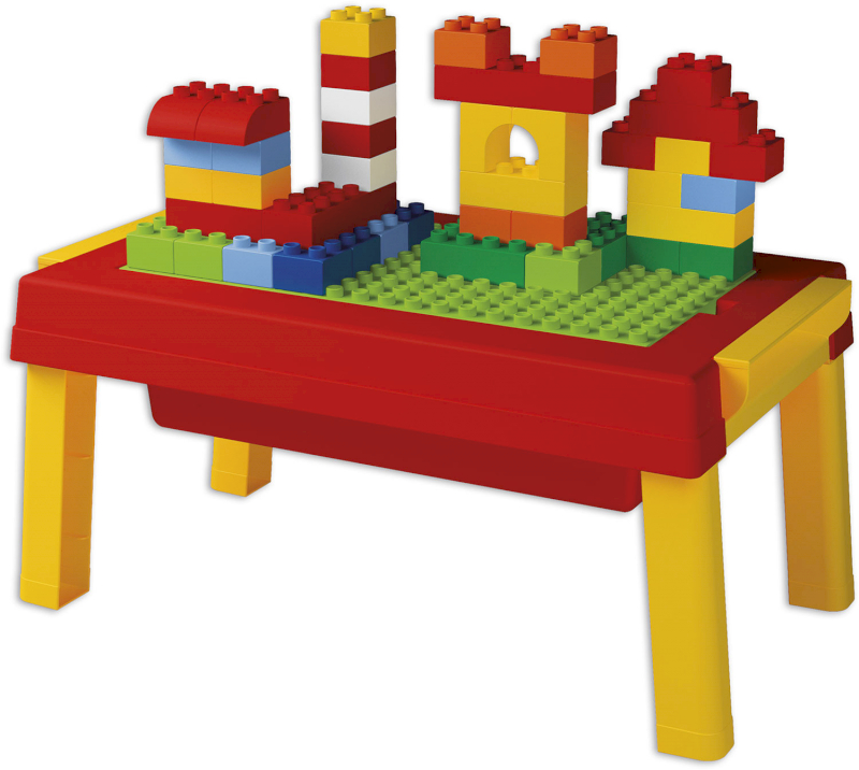 Mini-Tisch mit Bausteinen Unico Plus