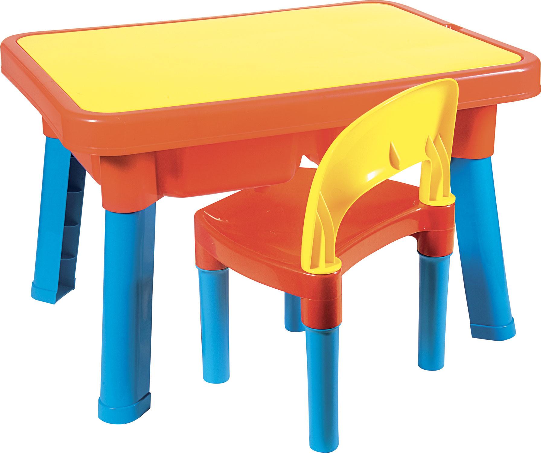 Multi-Tisch mit Stuhl