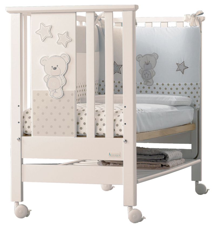 Azzurra Design Babybett Contact Art Elfenbeinfarbe