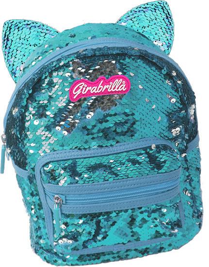 Girabrilla Mochila Gatito Azul