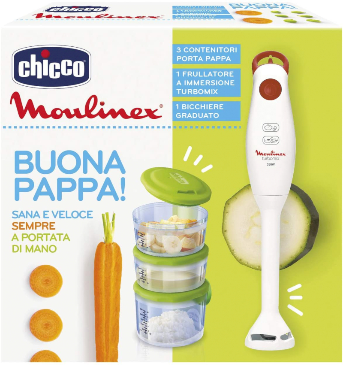 Chicco & Moulinex Buona Pappa