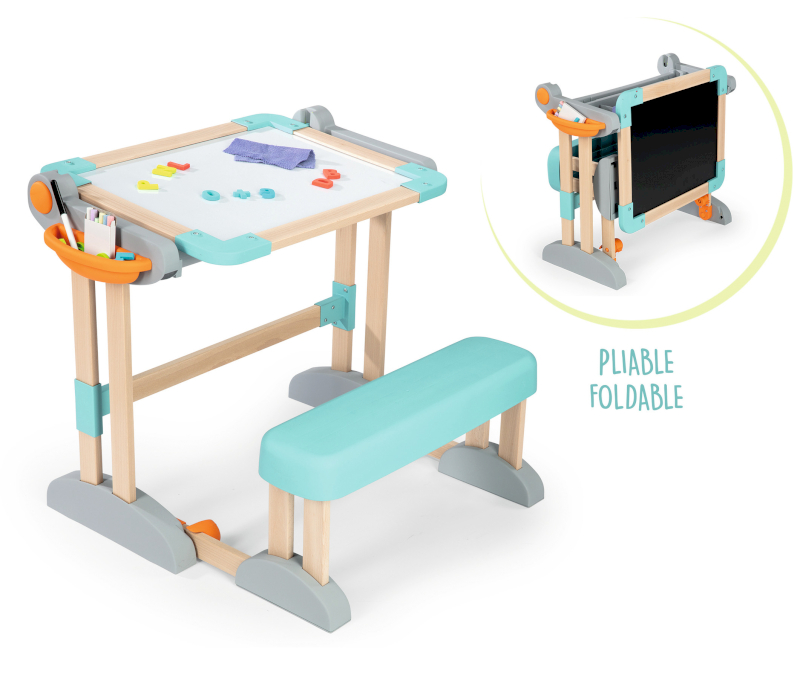 Smoby Bureau Modulo Space Naturel