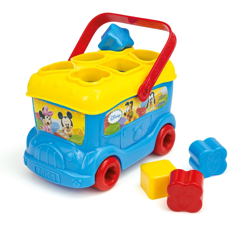 Baby Disney Autobús Formas y Colores Clementoni