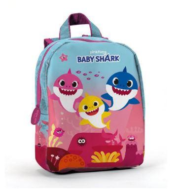 Mochila escolar Baby Shark