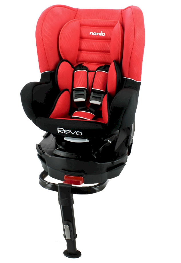 Nania Siège-Auto Revo Isofix Pivotant Luxe Red