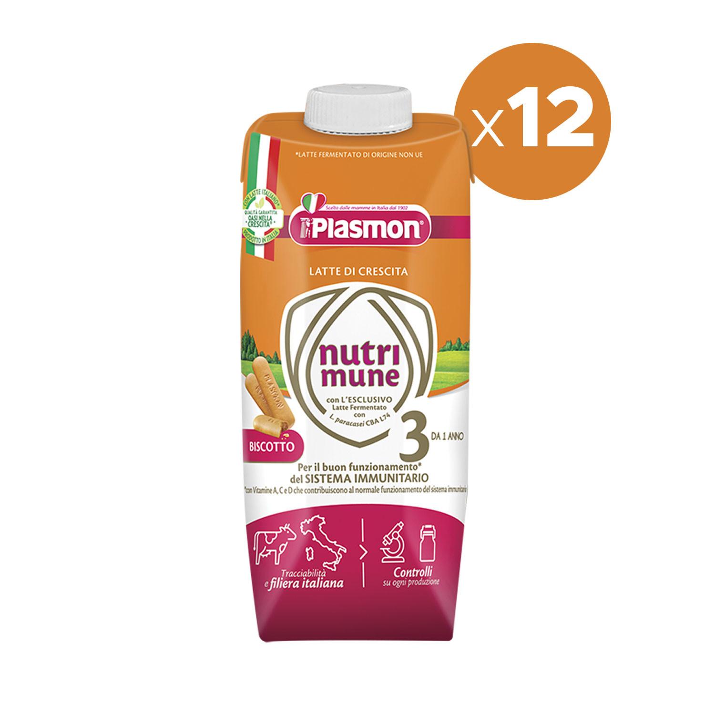 Latte Nutri-Mune 3 con Biscotto - x12