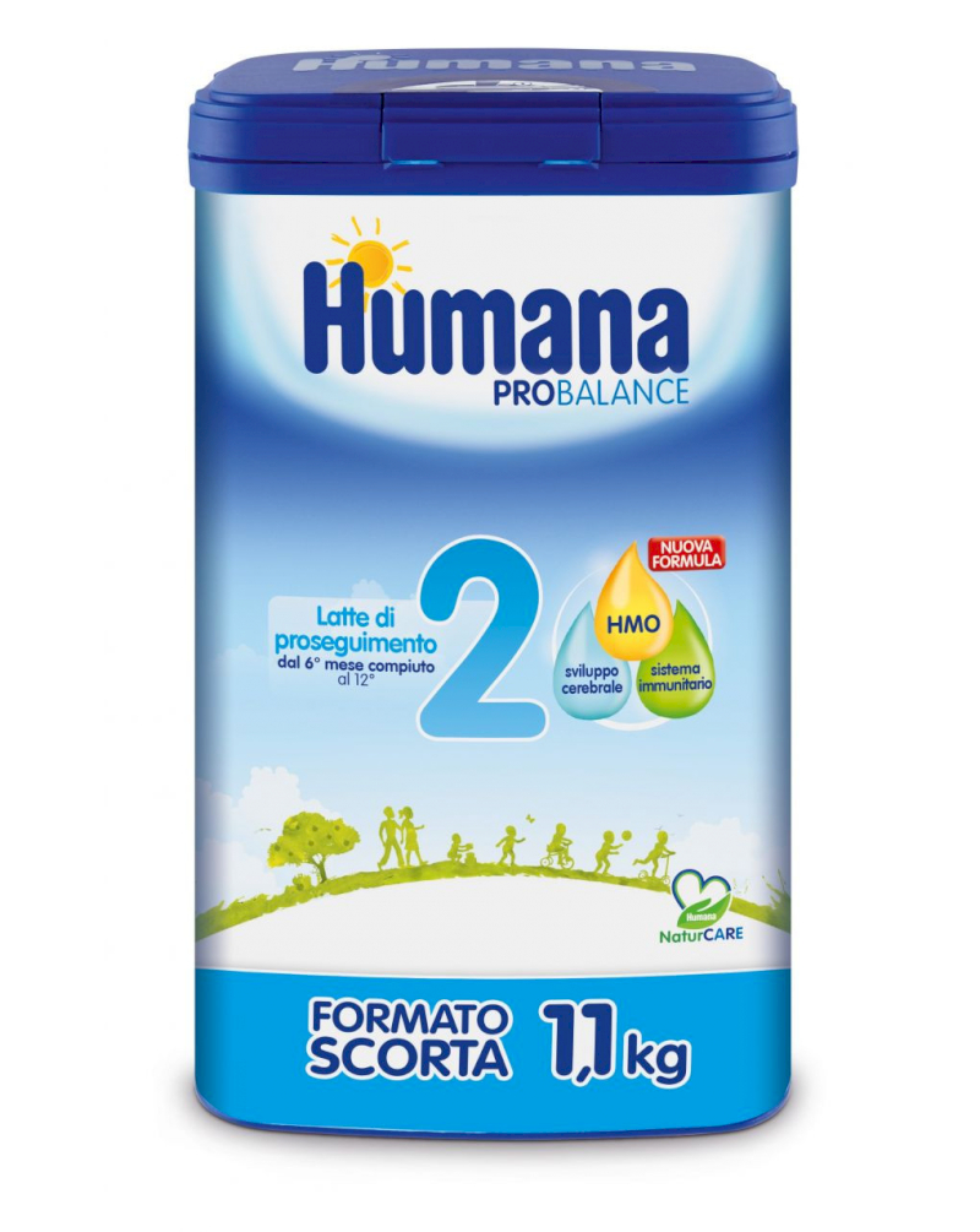 Latte Humana 2 in Polvere - 1100 gr