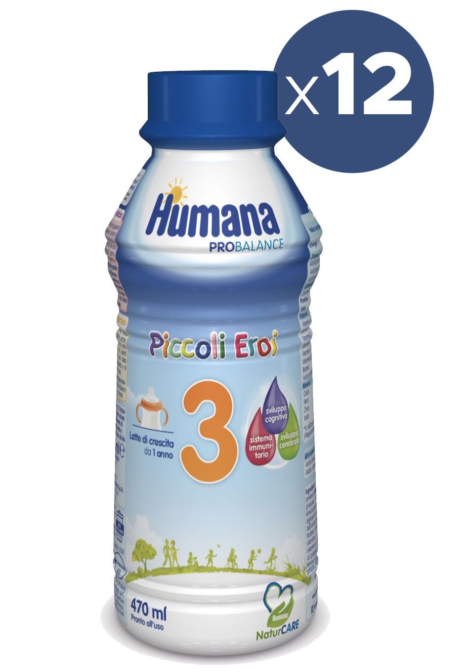 Latte Humana 3 Liquido - x12
