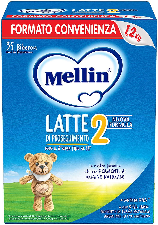 Latte Mellin 2 in Polvere - 1200 gr