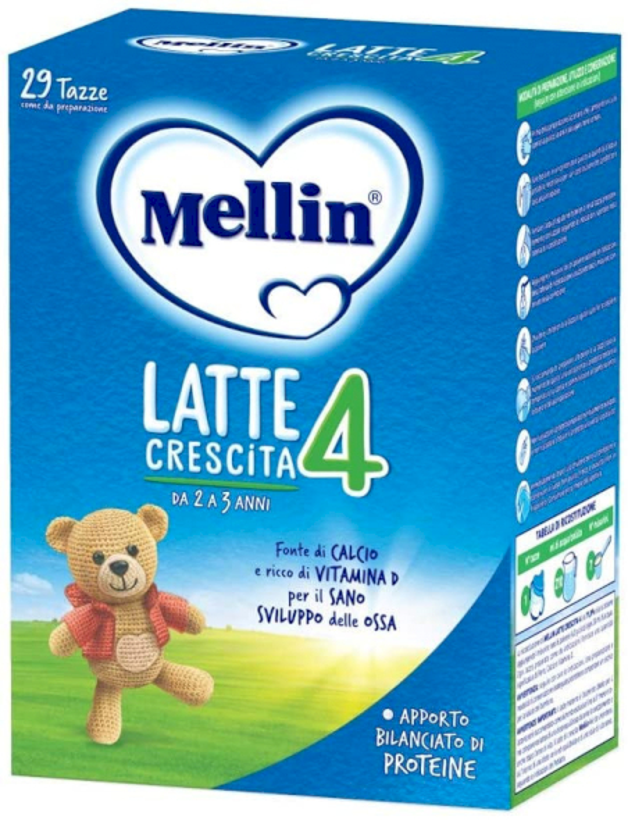 Latte Mellin 4 in Polvere