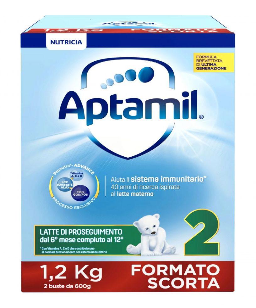 Latte Aptamil 2 in Polvere