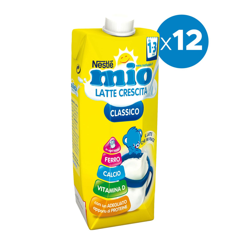 Latte Mio Crescita Classico - 12 Confezioni da 500 ml
