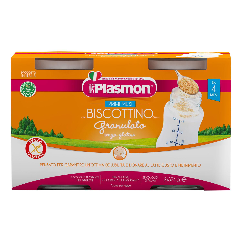 Biscottino Granulato Senza Glutine Plasmon