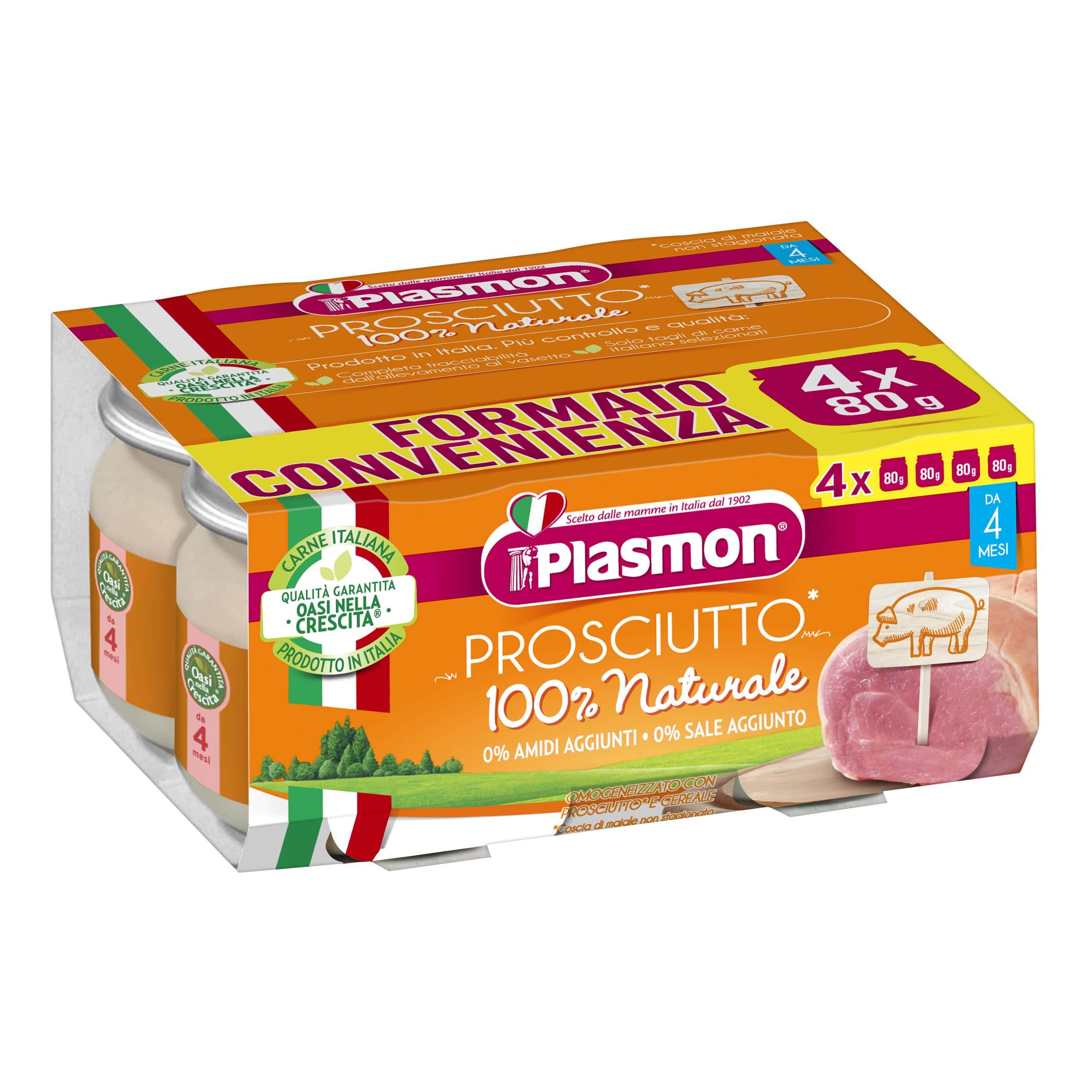 Omogeneizzato Prosciutto Plasmon
