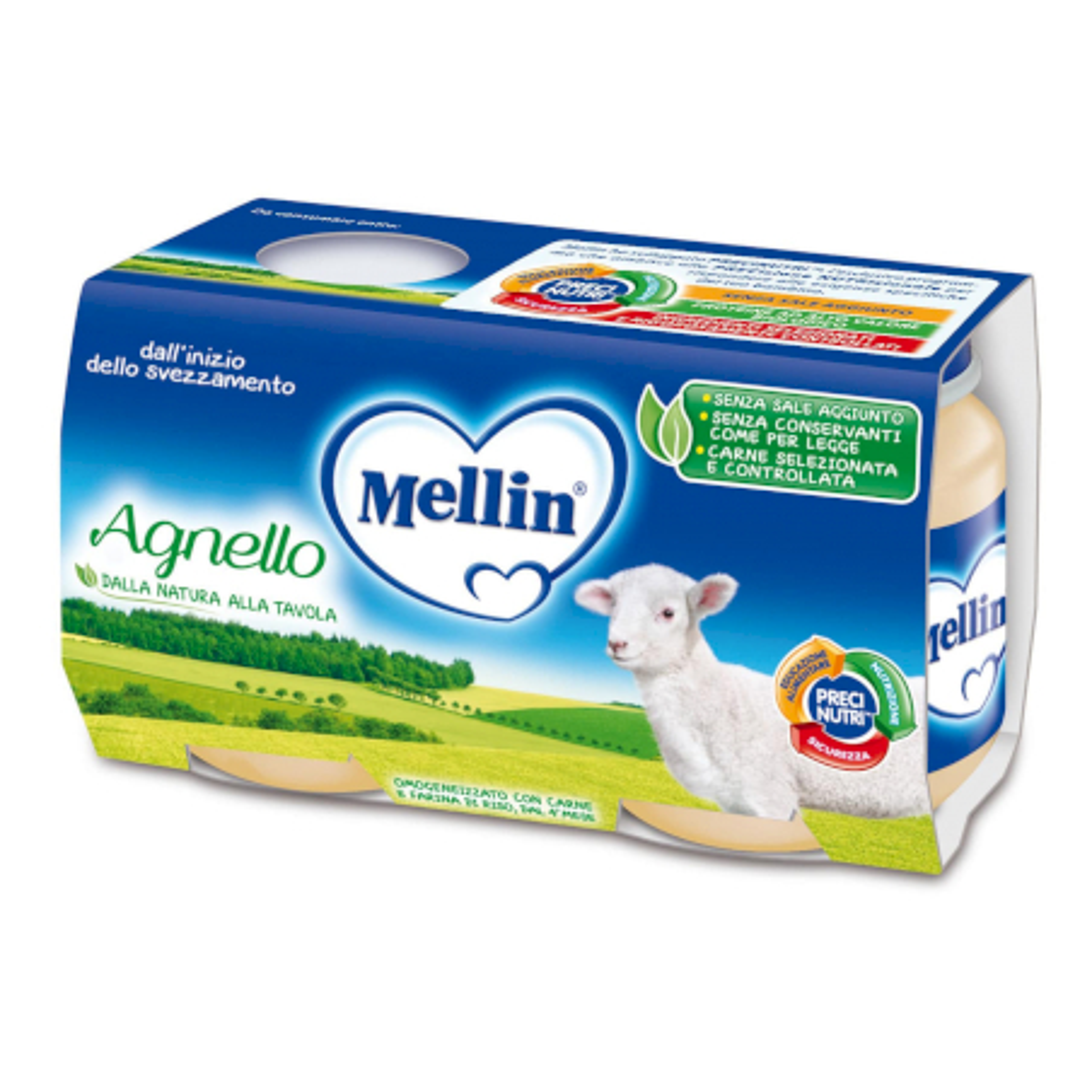 Omogeneizzato Agnello Mellin