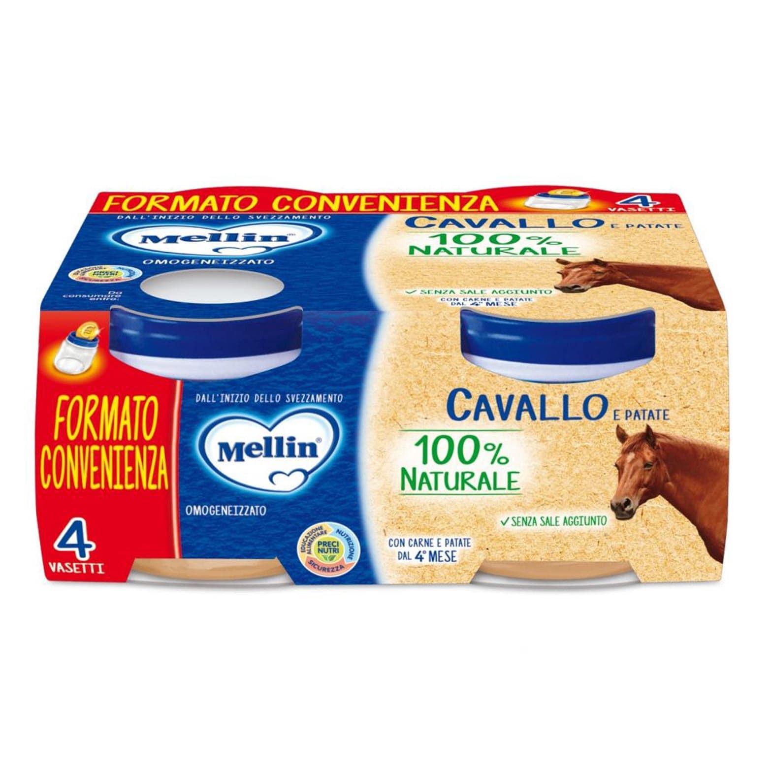 Omogeneizzato Cavallo e Patate Mellin
