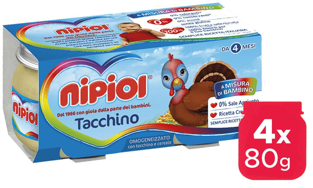 Omogeneizzato Tacchino Nipiol