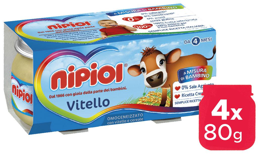 Omogeneizzato Vitello Nipiol