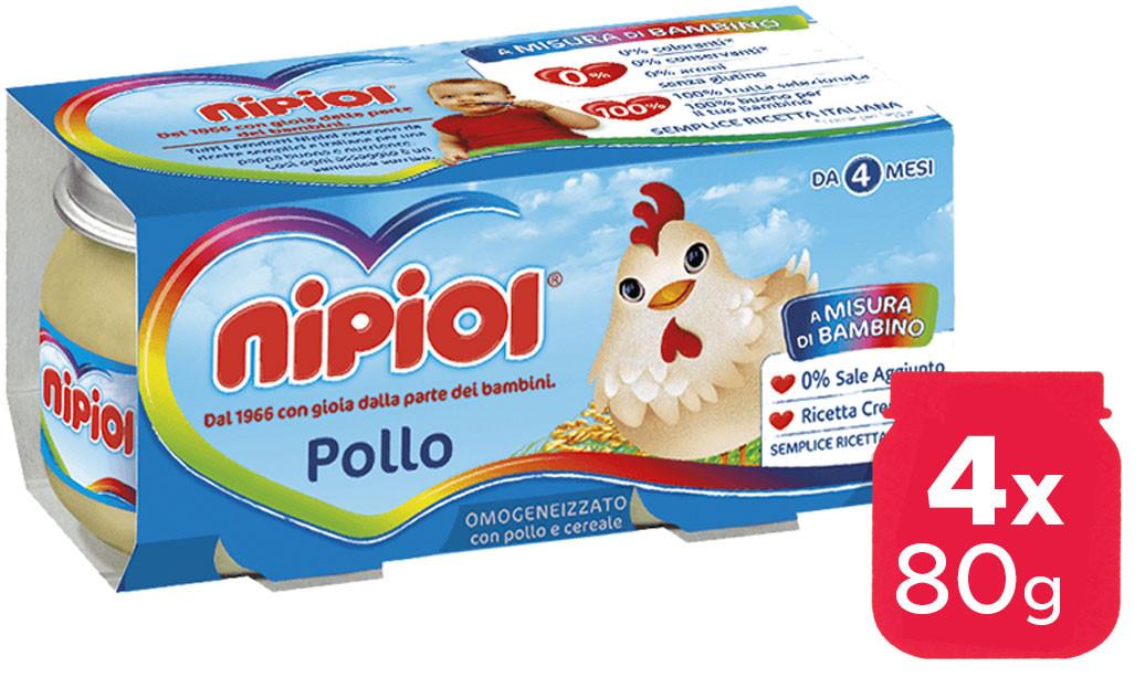 Omogeneizzato Pollo Nipiol