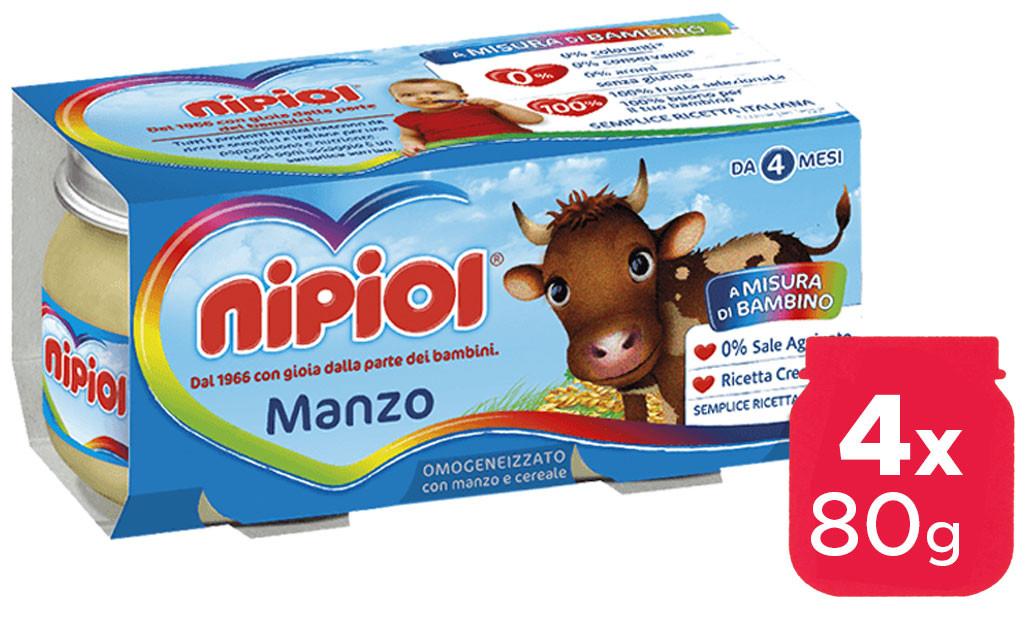 Omogeneizzato Manzo Nipiol