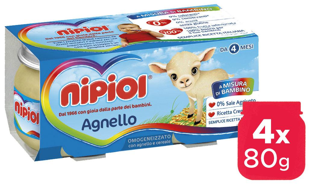 Omogeneizzato Agnello Nipiol