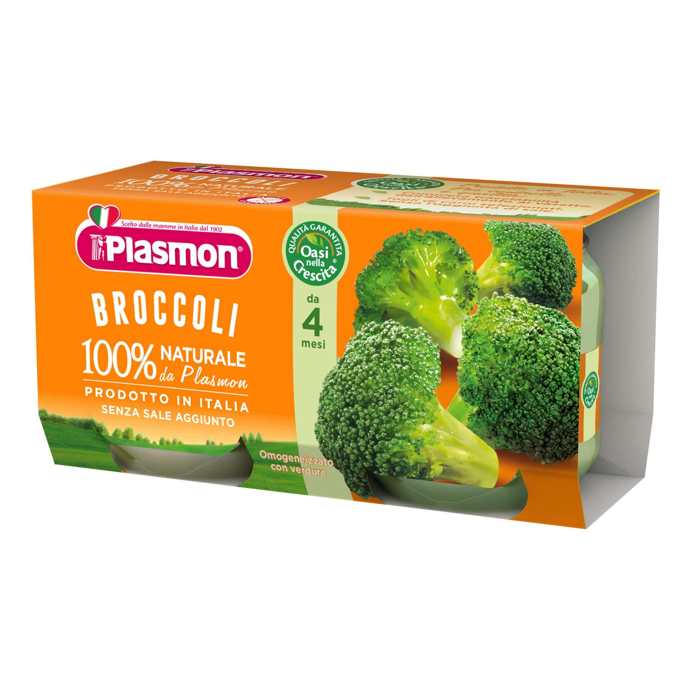 Omogeneizzato Broccoli Plasmon