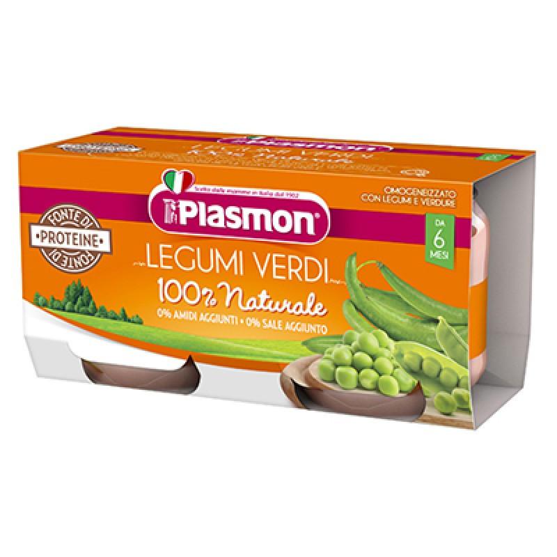 Omogeneizzato Legumi e Verdure Plasmon