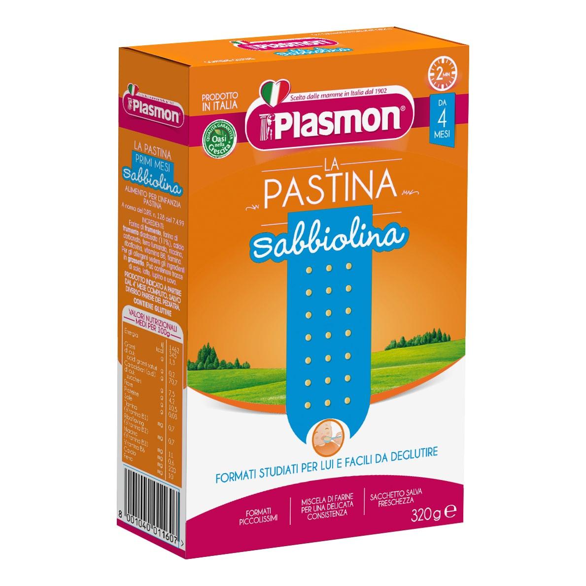 Pastina Sabbiolina Plasmon