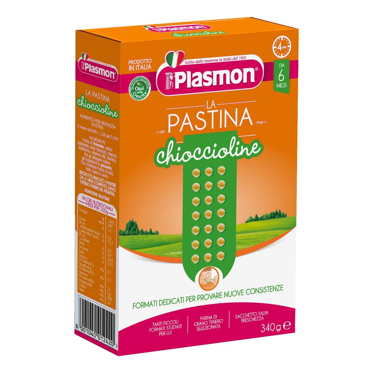 Pastina Chioccioline Plasmon