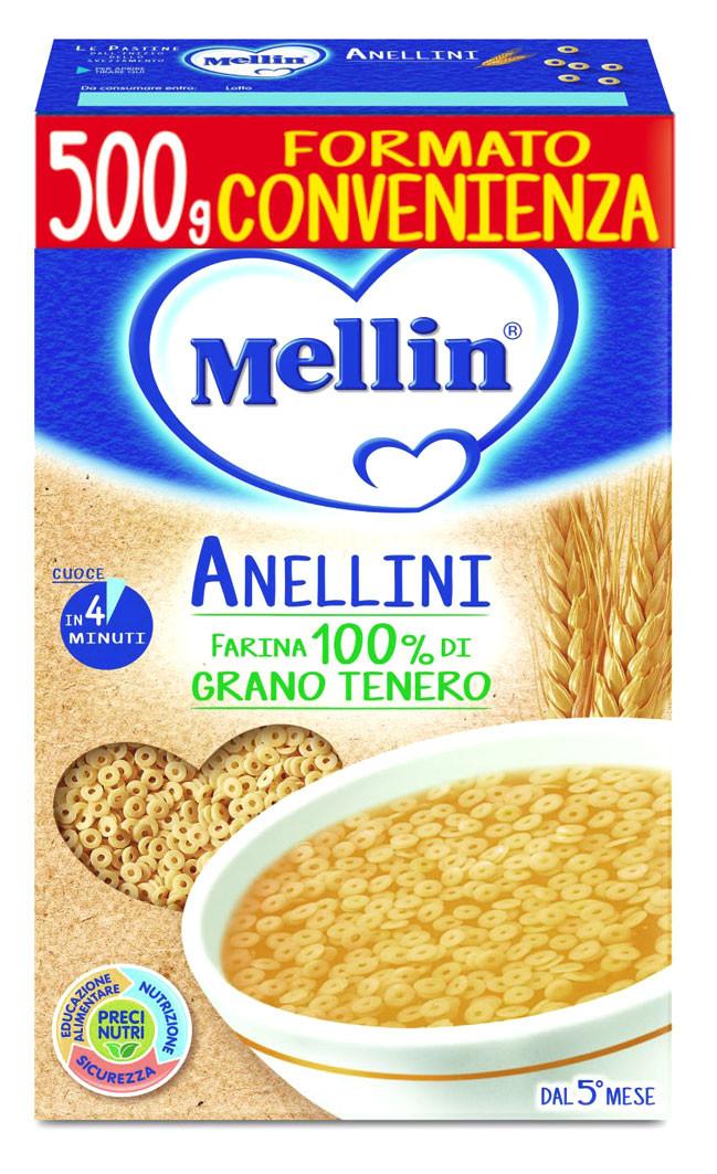 Pastina Anellini Mellin - 500 g