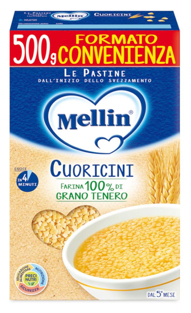 Pastina Cuoricini Mellin - 500 g